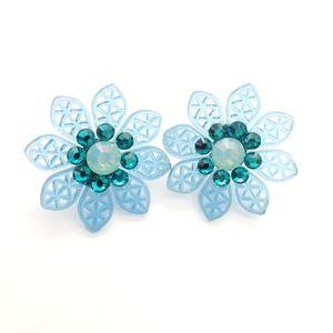 Tarina Tarantino flower earrings
